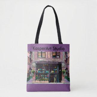 KasperKlothes All-Over-Print Tote Bag, Medium