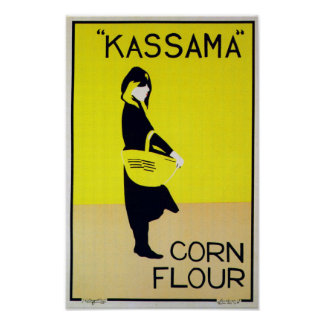 Kassama Corn - Vintage Advertising Poster