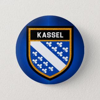 Kassel Flag 6 Cm Round Badge