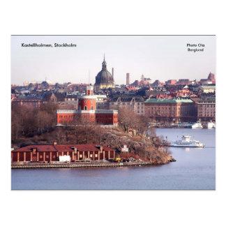 Kastellholmen, Stockholm, Photo O... Postcard