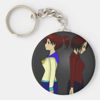 Kat and Tyra design keyring