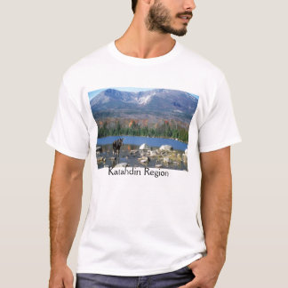 Katahdin Region Maine Moose T-Shirt