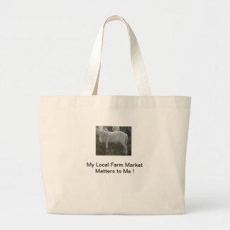Katahin Hair Sheep Canvas Bag