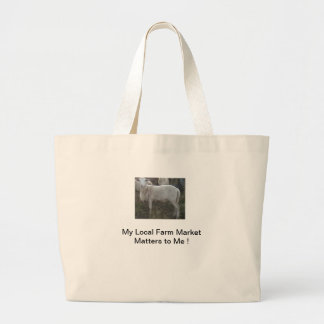 Katahin Hair Sheep Jumbo Tote Bag