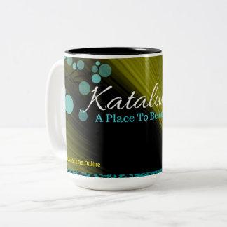 Kataluma - A Place To Belong Two-Tone Coffee Mug