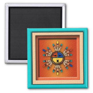 Katchina Sun Face Magnet