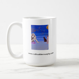 Kate on the Rooftop - Fantasy Self Portrait Coffee Mug