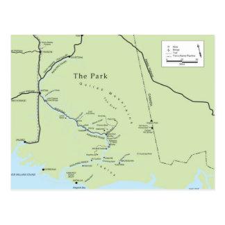 Kate Shugak's Park postcard
