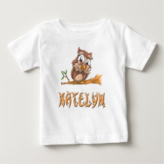 Katelyn Owl Baby T-Shirt
