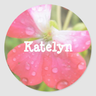 Katelyn Round Sticker