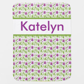 Katelyn's Personalized Iris Blanket