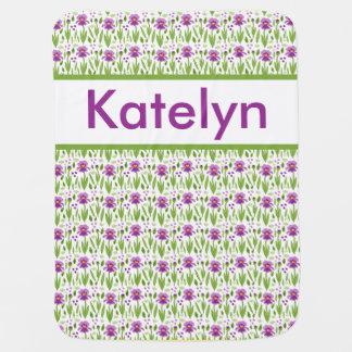 Katelyn's Personalized Iris Blanket Pramblankets
