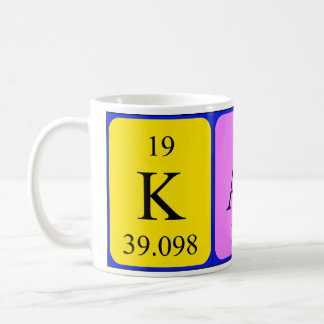 Kath periodic table name mug