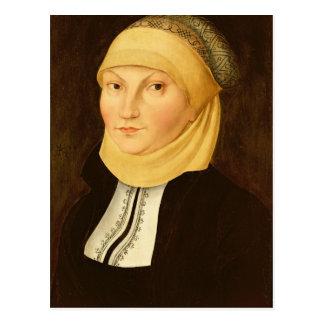 Katharina Luther , 1528 Postcard