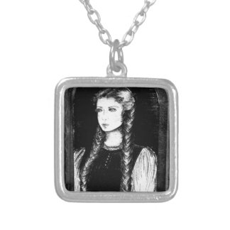 Katharina Siegel (Dracula's Lover) Silver Plated Necklace