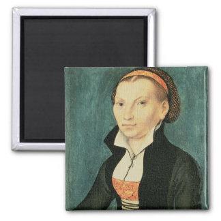 Katharina von Bora, future wife of Martin Fridge Magnet
