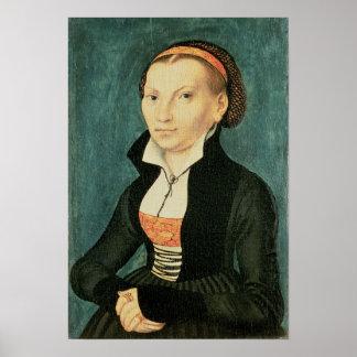 Katharina von Bora, future wife of Martin Poster