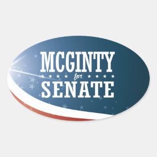 Kathleen McGinty 2016 Oval Sticker