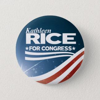 Kathleen Rice 6 Cm Round Badge