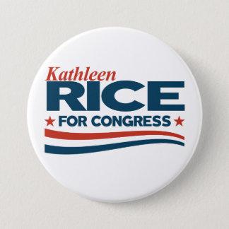 Kathleen Rice 7.5 Cm Round Badge