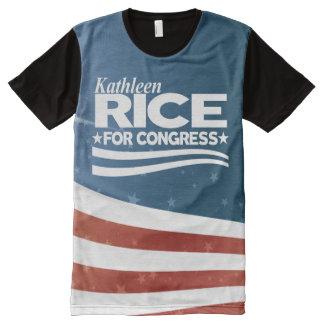 Kathleen Rice All-Over Print T-Shirt