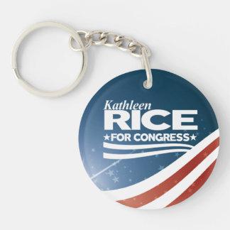 Kathleen Rice Key Ring