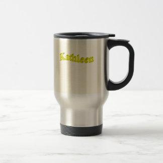 Kathleen Stainless Steel Commuter Mug
