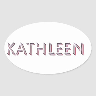 Kathleen sticker name