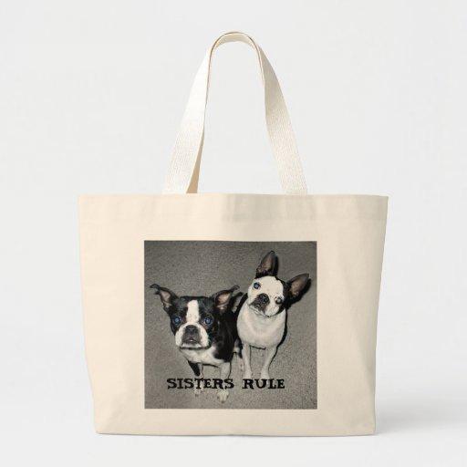 Kathy-girls, SISTERS RULE Canvas Bags