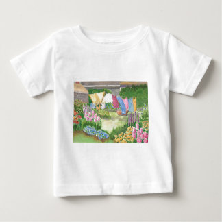 Kathy's Laundry on Monhegan Is Me Baby Teeshirt Baby T-Shirt