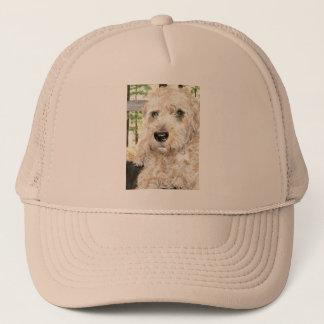 Katie the Wheaton Terrier Trucker Hat