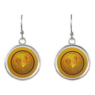 KatkaKoin Cryptocurrency ICO Earrings