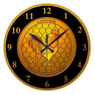 KatkaKoin Cryptocurrency ICO Large Clock