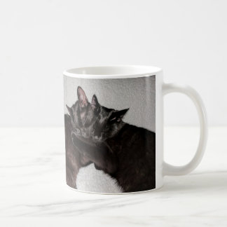 Katniss & Joakim Black Cats Snuggle Mug