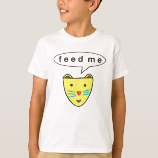 "Kats ""Feed Me"" Kids Tee"