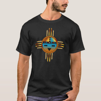 Katsina (Katchina) Zia Sun Face T-Shirt
