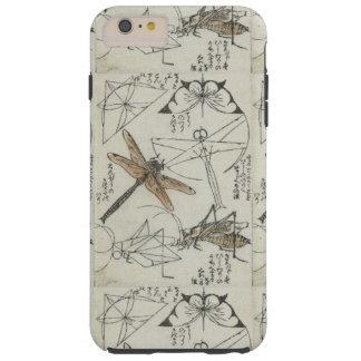 Katsushika Hokusai's Insects Tough iPhone 6 Plus Case