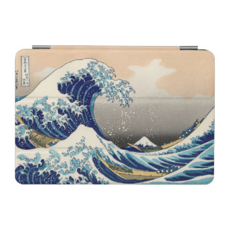 KATSUSHIKA HOKUSAI - The great wave off Kanagawa iPad Mini Cover