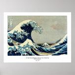 Katsushika Hokusai's Great Wave off Kanagawa Posters