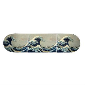 Katsushika Hokusai's Great Wave off Kanagawa Skate Decks