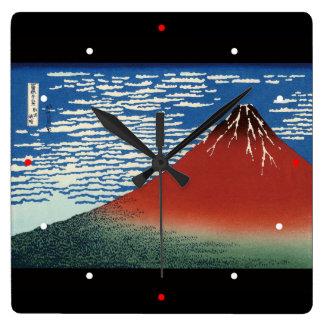 Katsushika north 斎, Hokusai Clocks