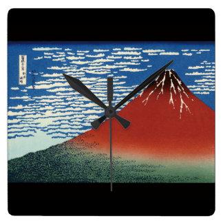 Katsushika north 斎, Hokusai Wall Clock