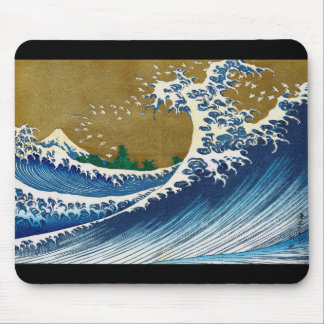 Katsushika north 斎, 'unique' wealth of sea 嶽 mouse pad