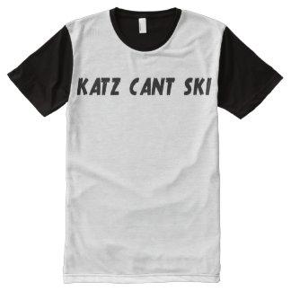 Katz Can't Ski Tee