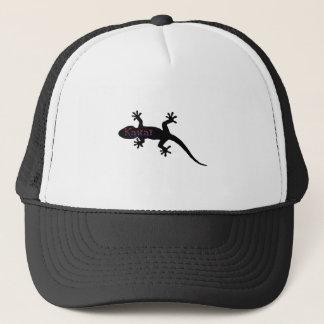 kauai geckos trucker hat