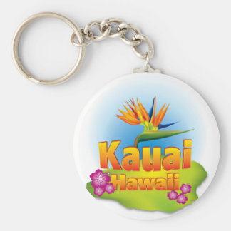 Kauai, Hawaii Key Chain Desgin