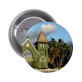 Kauai Hawaii North Shore Chapel Button