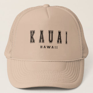Kauai Hawaii Trucker Hat