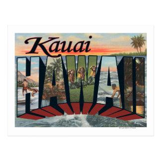 Kauai, HawaiiLarge Letter ScenesKauai, HI Postcard