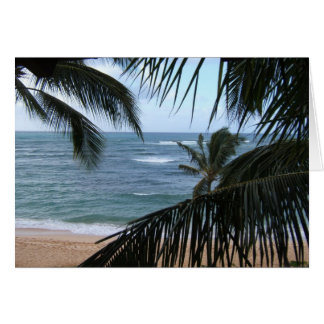 Kauai Honeymoon Card